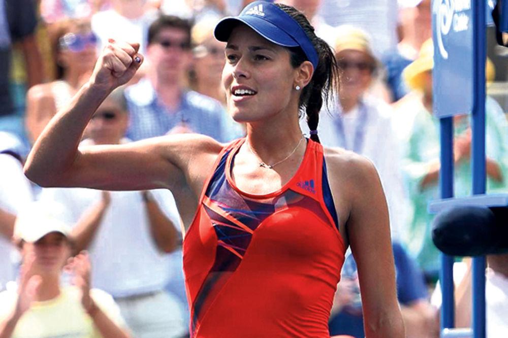 TRI SREĆE U JEDNOM DANU: Ivanovićeva u polufinalu Pekinga i na završnom turniru u Singapuru