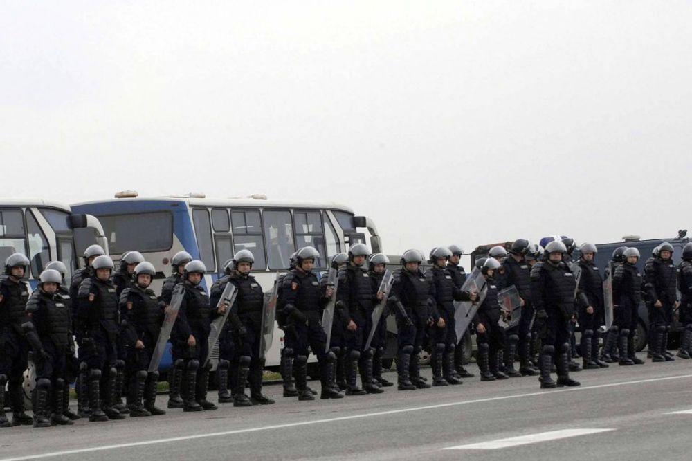 ZBOG NAJAVE PROTESTA NAVIJAČA: Centar Beograda pun policije