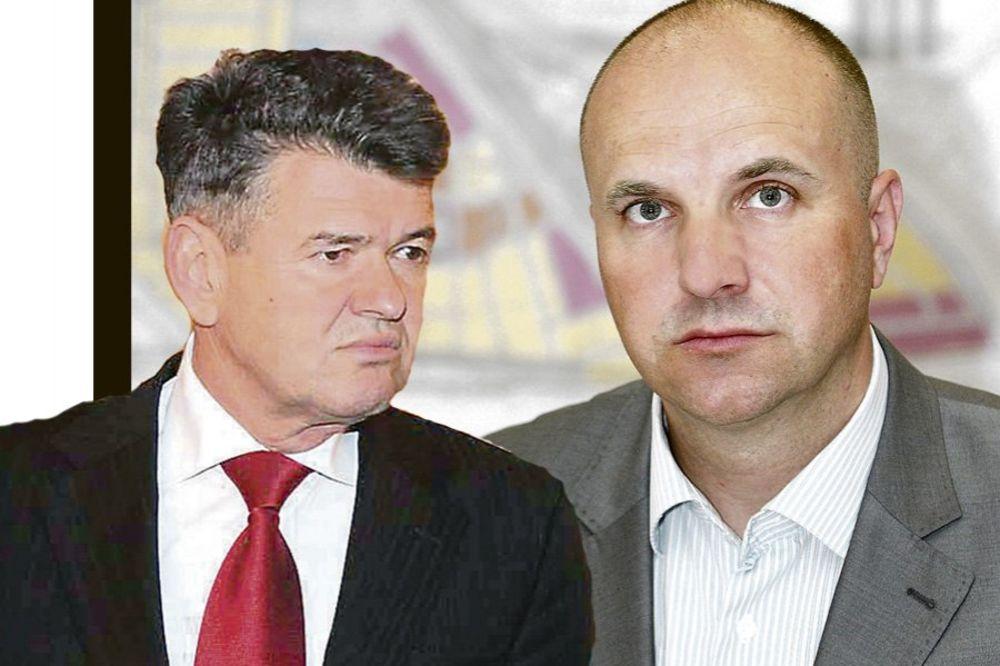 Petar Matijević i Borislav Novaković