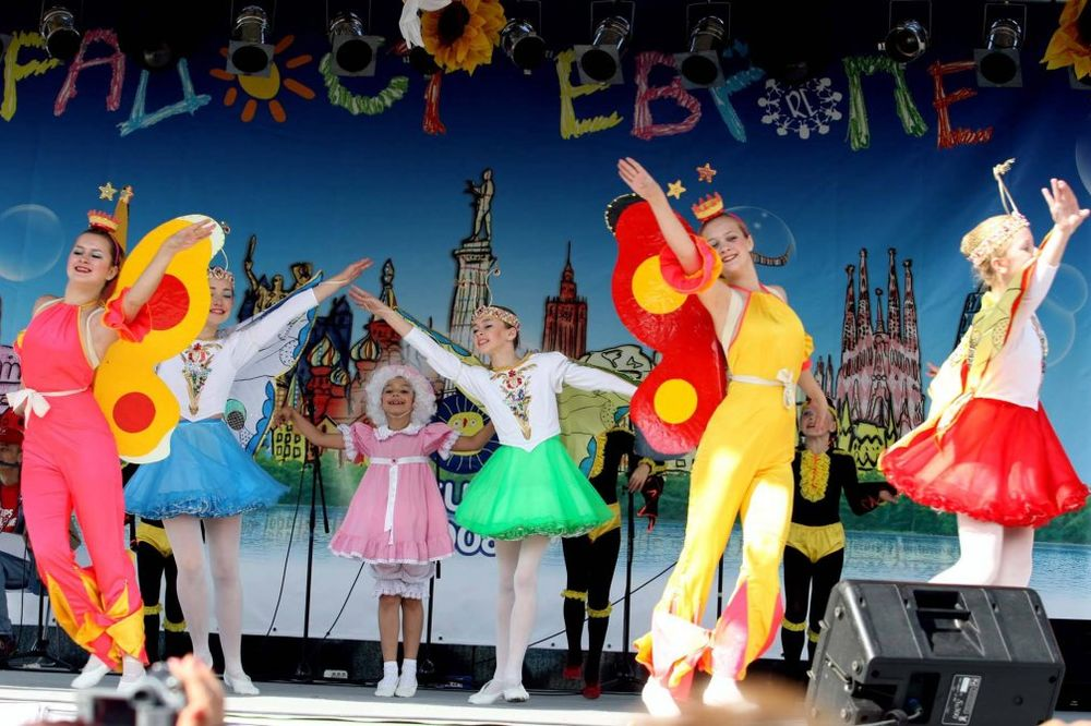 POČINJE RADOST EVROPE: Beograd od sutra prestonica radosti najmlađih Evropljana