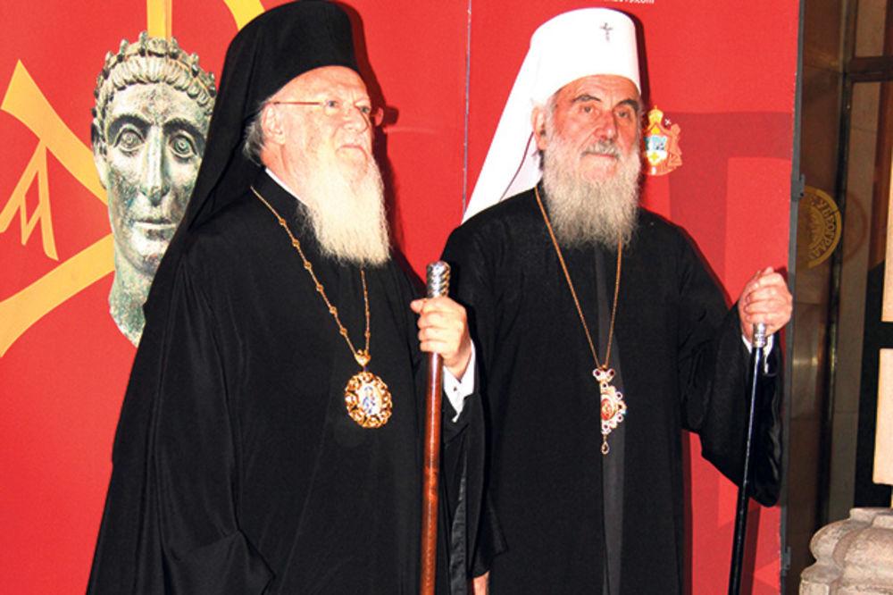 PISMO PODRŠKE: Patrijarh Vartolomej pisao patrijarhu srpskom Irineju