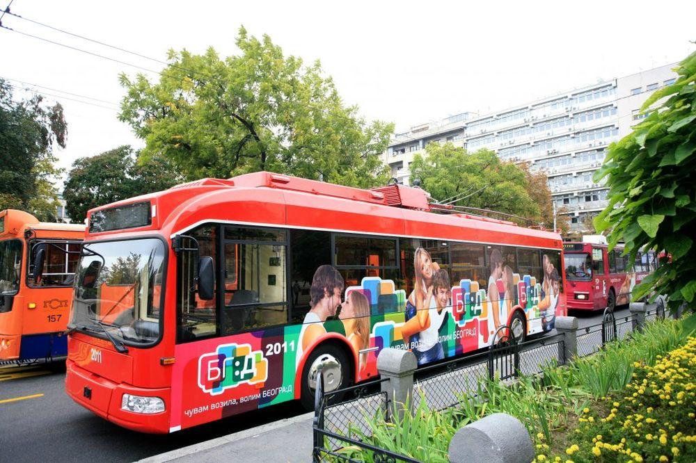 BEOGRAD: Trolejbusi na linijama 28, 40 i 41 vraćeni na redovnu trasu
