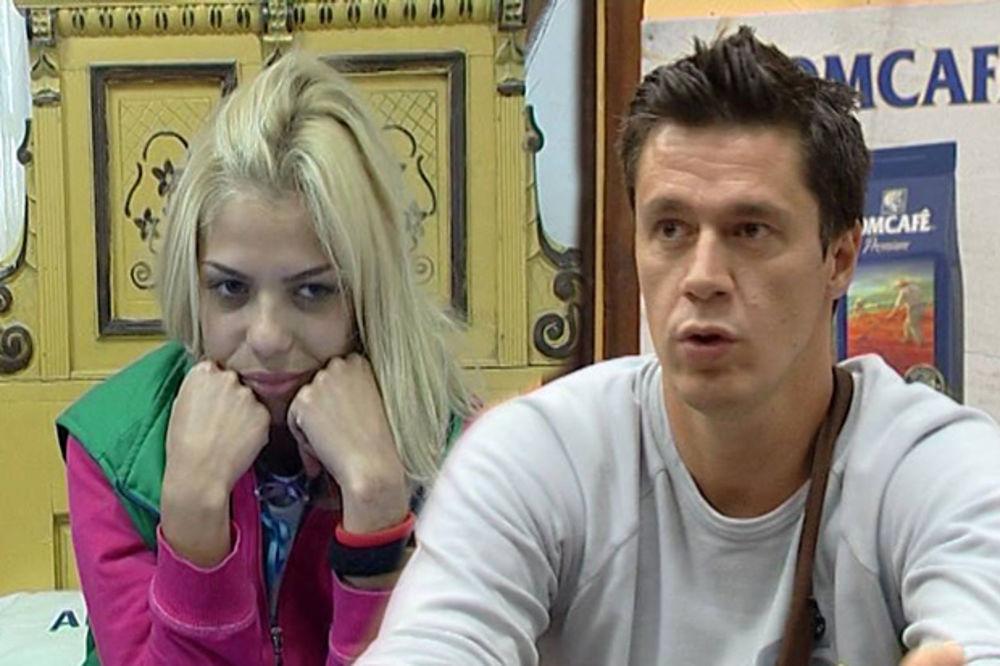 LJUBILI SE KOD WC: Smuvali se Edin i Jelena Jovanović