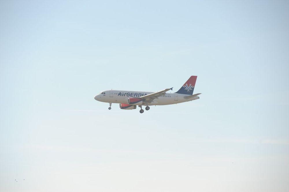 SVEČANI DOČEK: Erbas koji će leteti za Njujork stiže danas u Beograd