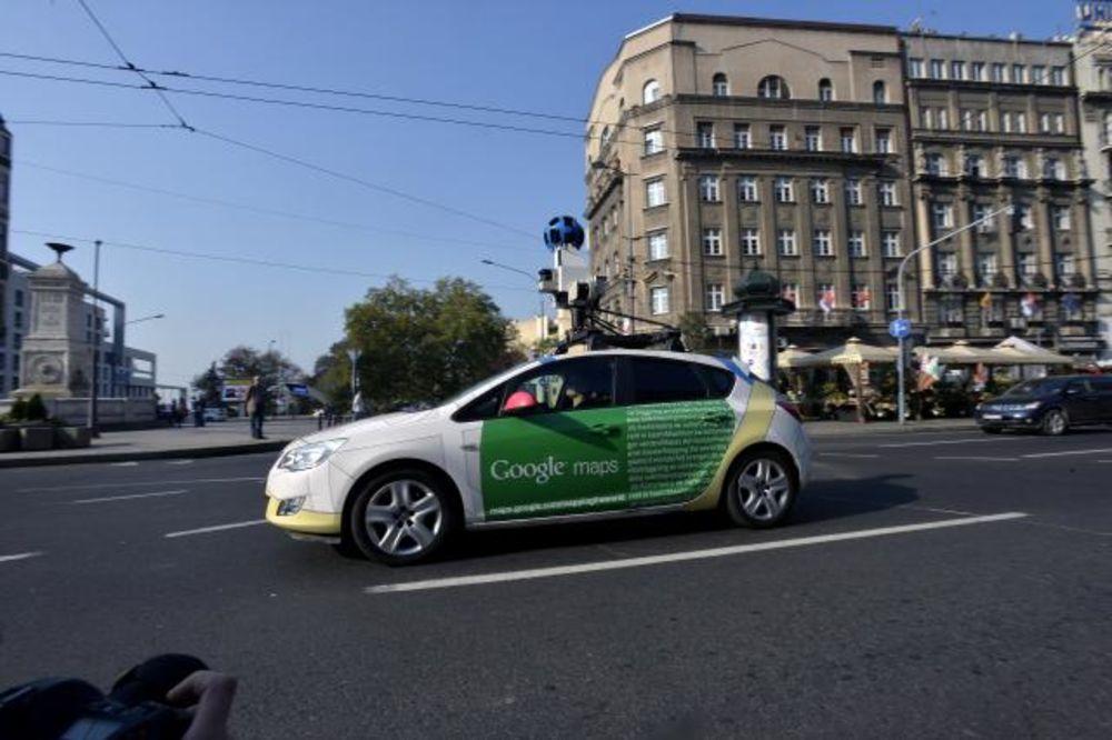 Stigao U Beograd Gugl Strit Vju Poceo Sa Snimanjem Ulica