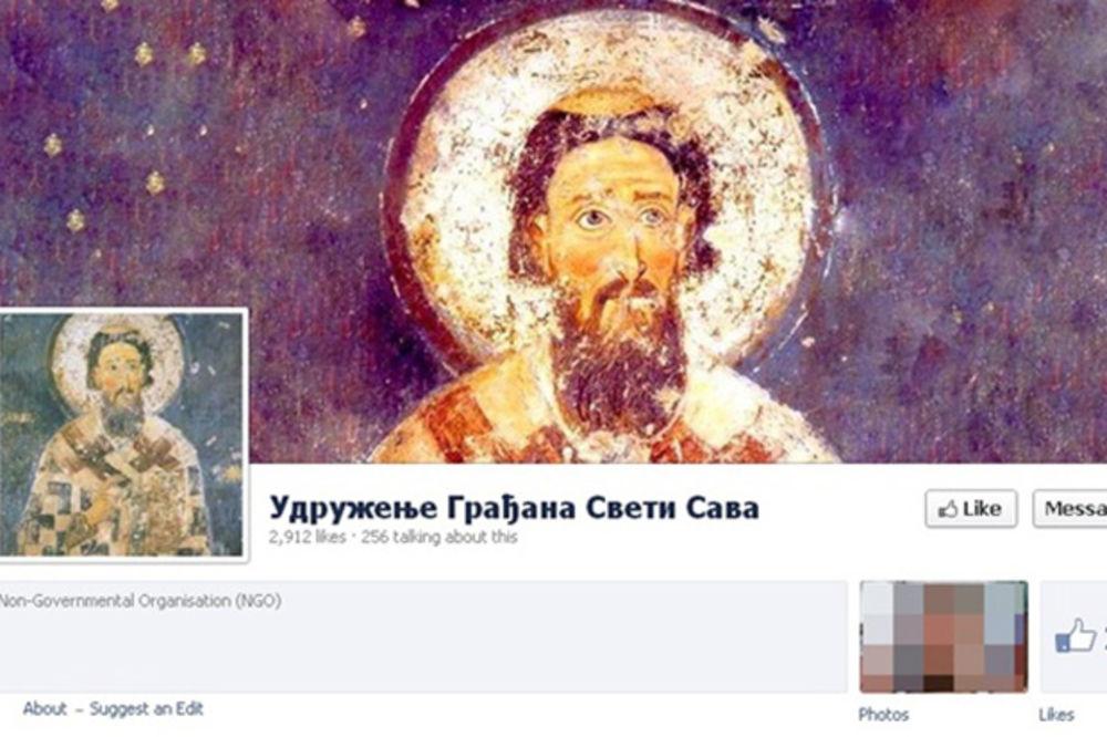 SVETI SAVA PONOVO U AKCIJI: Oblepili grad slikama novog narko-dilera iz Lazarevca!