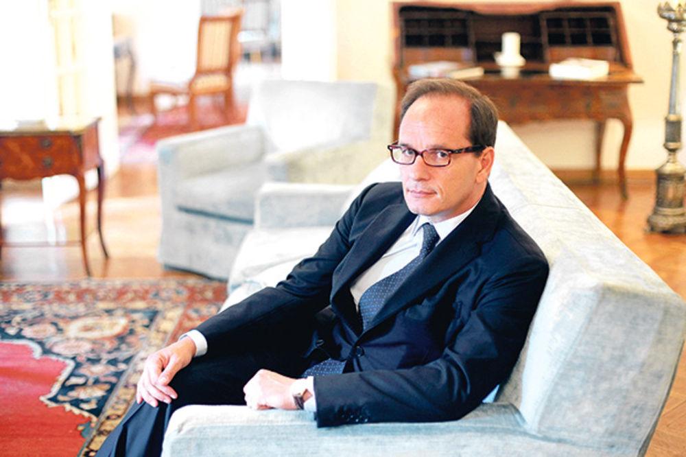 AMBASADOR ITALIJE: Samit je dobar signal za evropsku budućnost Srbije