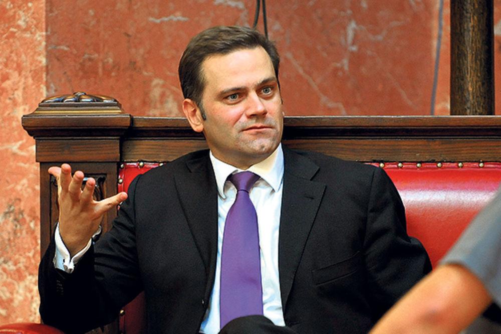 Borko Stefanović šef poslaničke grupe DS