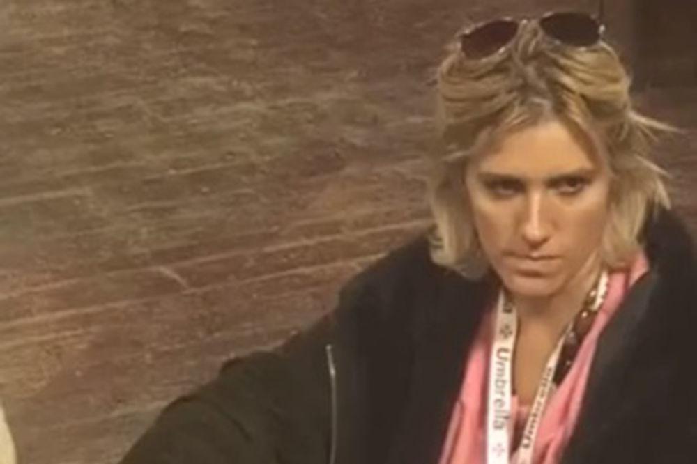 Jelena Golubović, farma, printskrin