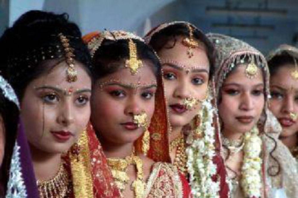 Mlade mlade: U Indiji su deiji brakovi tradicija