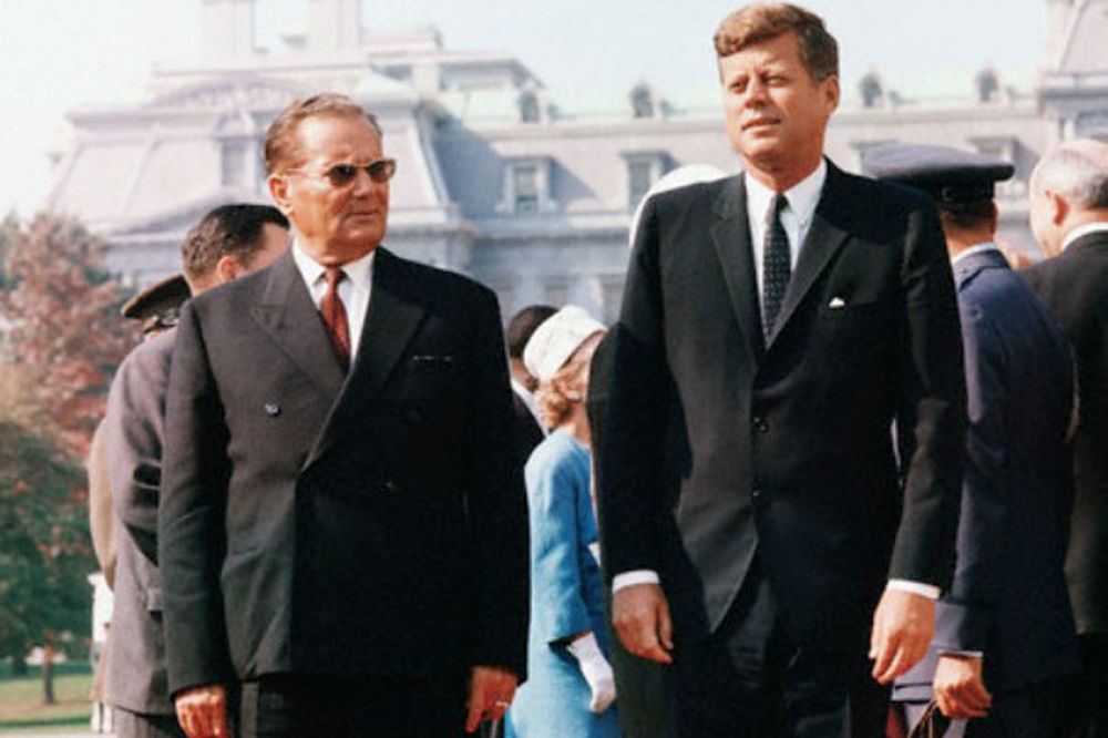 Tito sa Kenedijem (Foto: Arhivska fotografija)