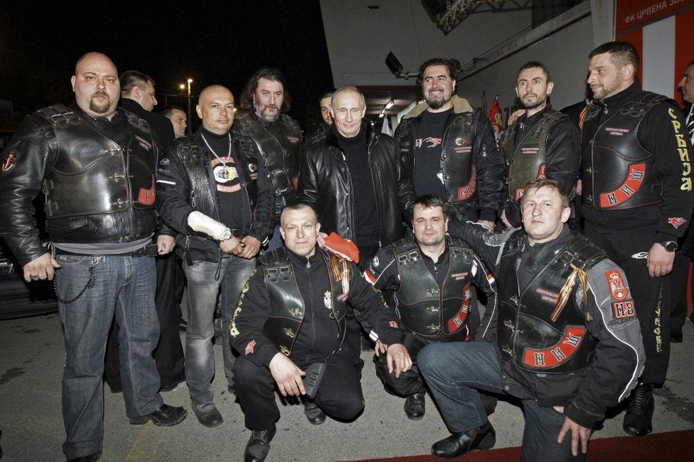 Noćnih vukova ima i u Srbiji: Putin u Beogradu