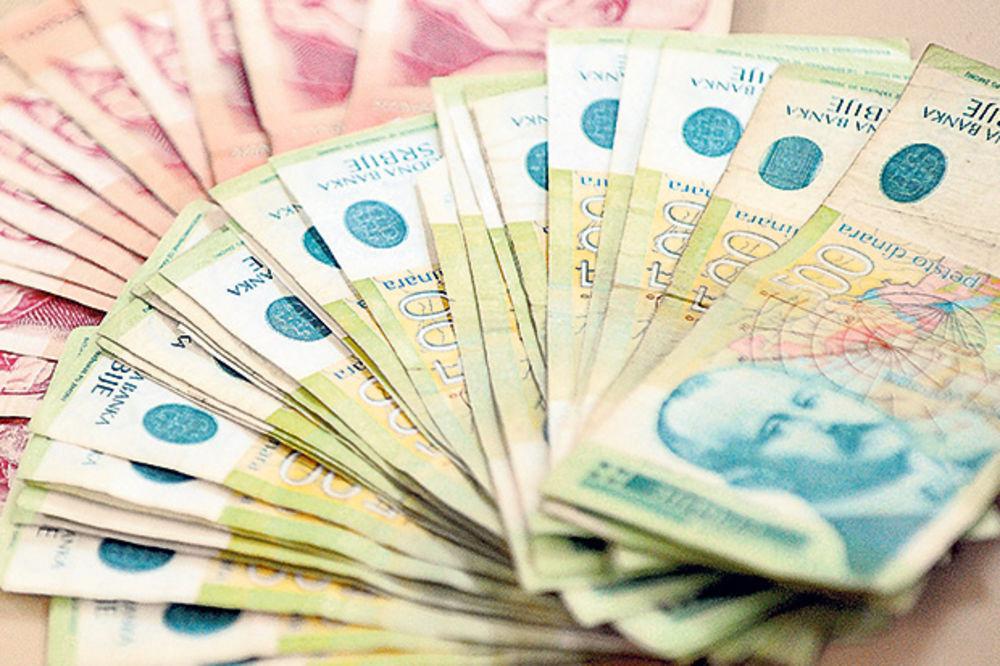 SOLIDARNI POREZ: 20 odsto nameta na plate iznad 60.000 dinara
