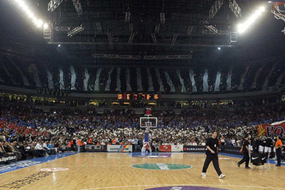 (VIDEO)  LEVSKI U ARENI: Navijači Partizana pokreću akciju za pomoć košarkašima