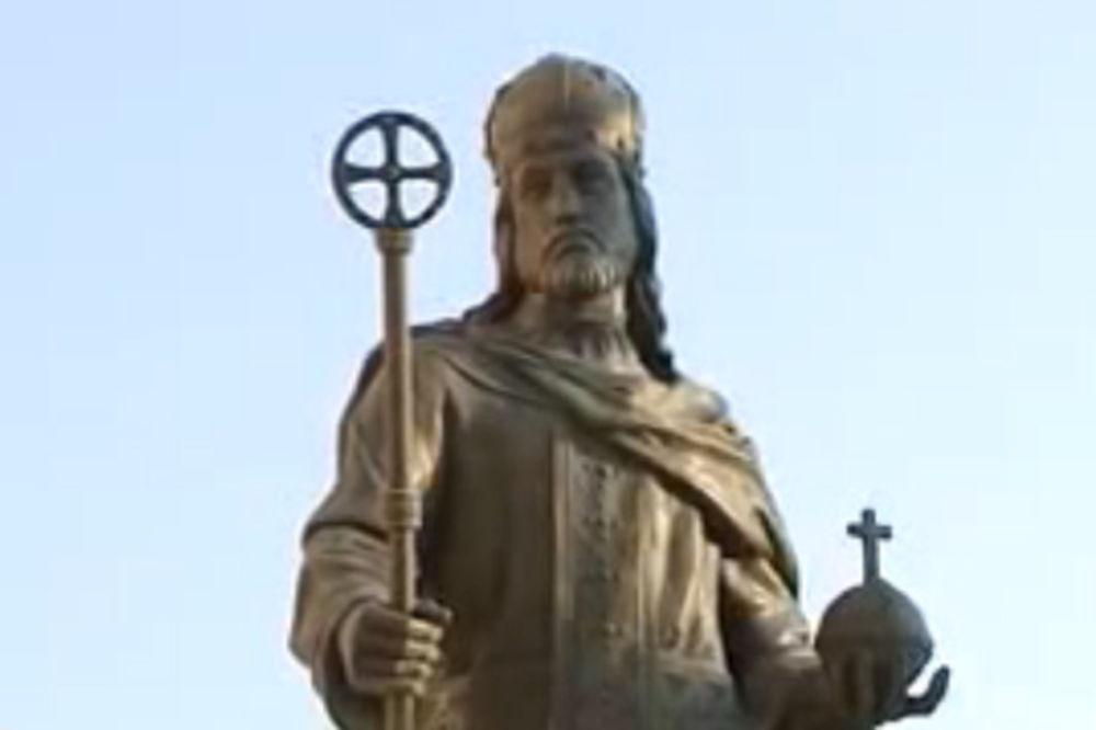 Skoplje Spomenik Caru Dusanu Bice Uklonjen