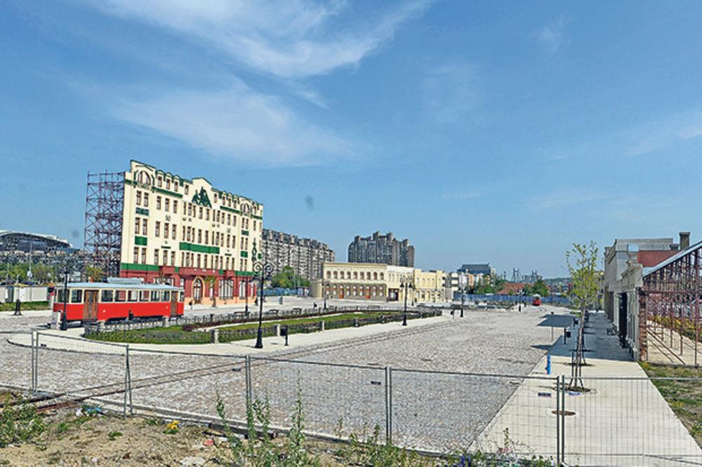 ODOŠE NOVOBEOGRADSKE TERAZIJE: Umesto tematskog parka autobuska stanica