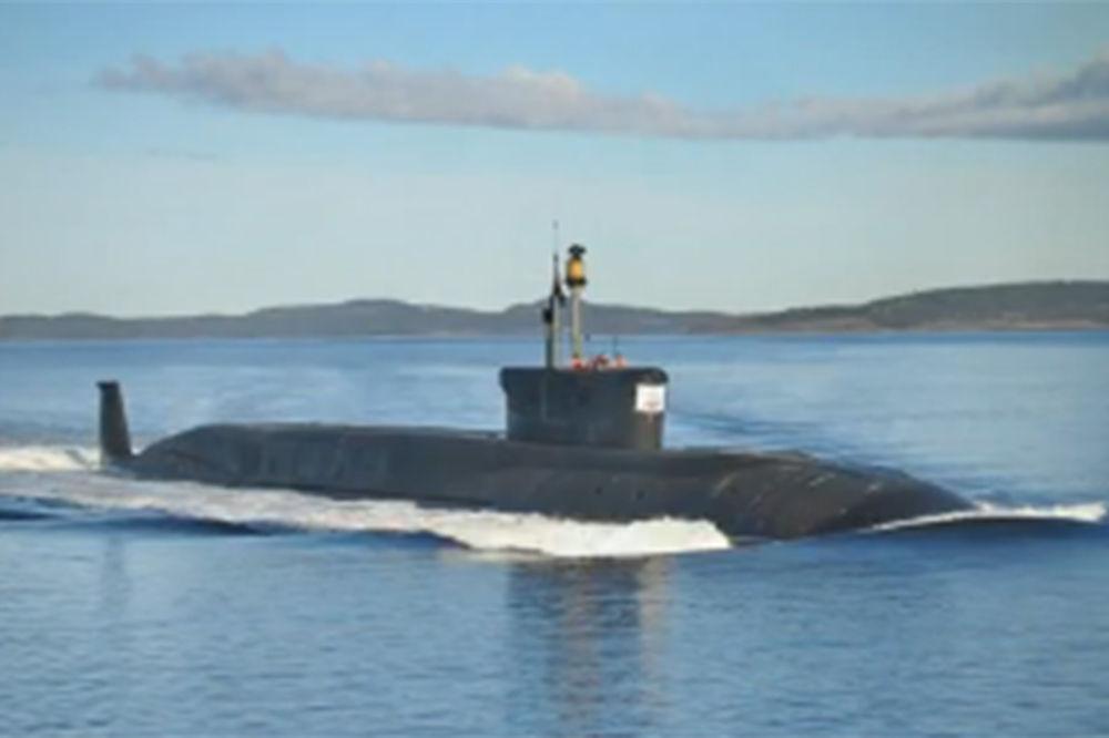 POGLEDAJTE: Rusi uveli u naoružanje novu strategijsku nukelarnu podmornicu!