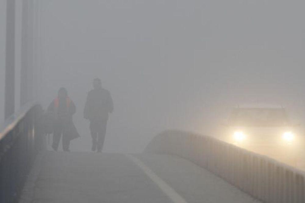 Gusta magla oko Zaječara: Ne krećite na put bez preke potrebe!