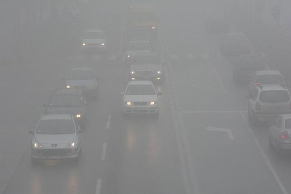 VIDLJIVOST 200 METARA: Magla kod Rušnja i Bubanj potoka