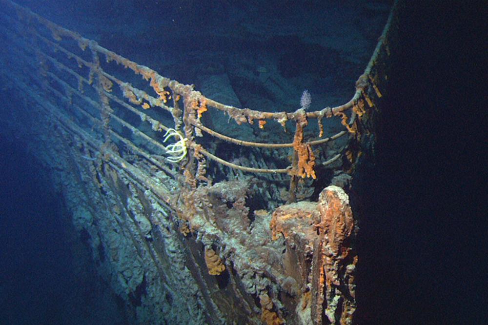 Olupina broda za koji se veruje da se radi o Titaniku