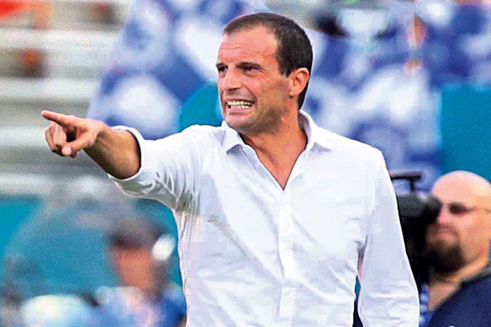 STARA DAMA BRANI TITULU: Alegri zadovoljan radom igrača Juventusa na pripremama