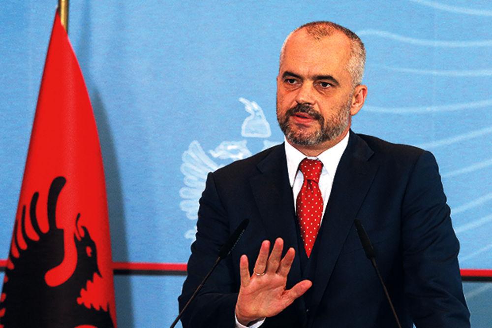 PREMIJER ALBANIJE: Odlaganje posete Beogradu nije bilo odbijanje
