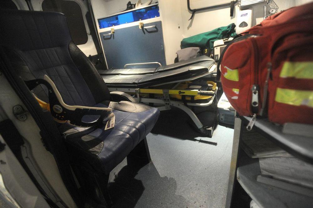 NOĆ U BEOGRADU: Povređen motociklista u Tadeuša Košćuška!