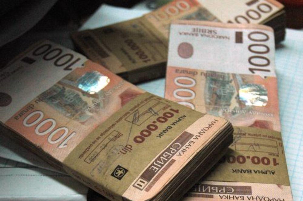 SREDNJI KURS: Evro danas košta 120,3 dinara