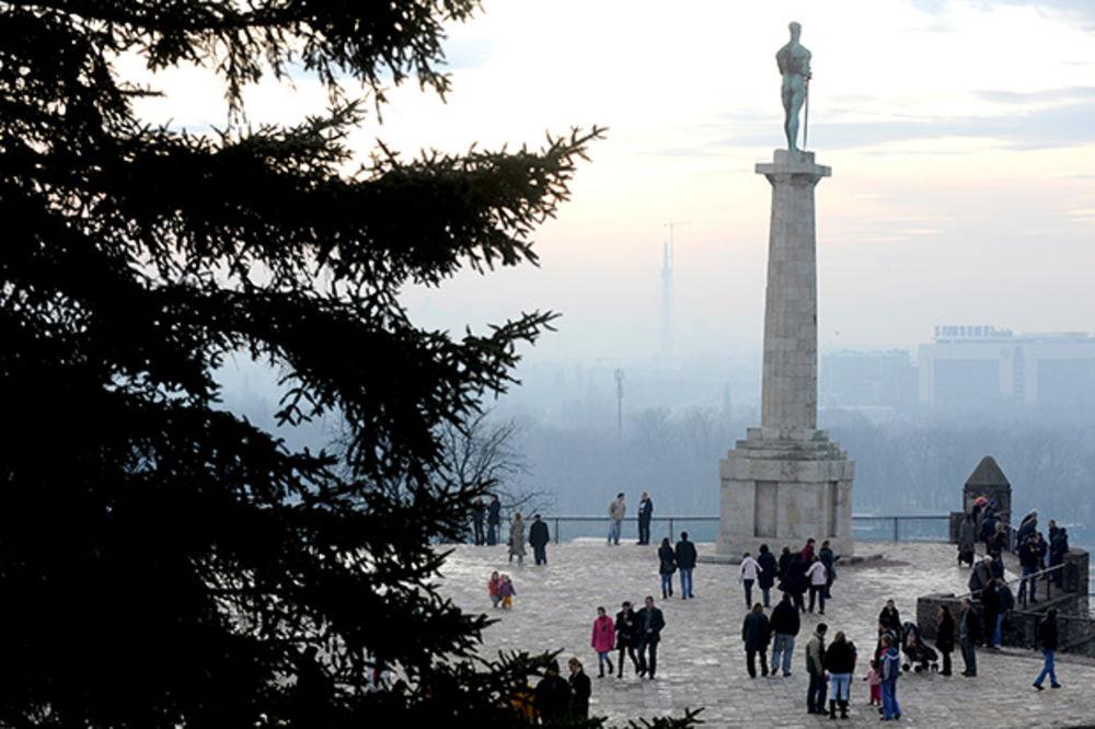 Vučić i Li prošetali se Kalemegdanom