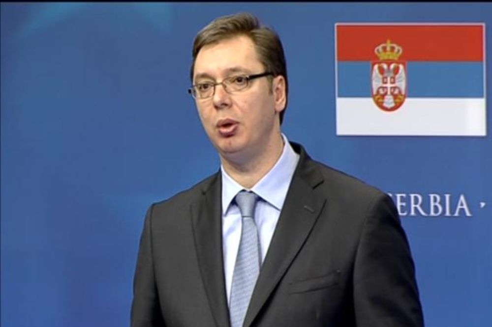 Vučić: Ne mogu da sakrijem osmeh zbog izveštaja