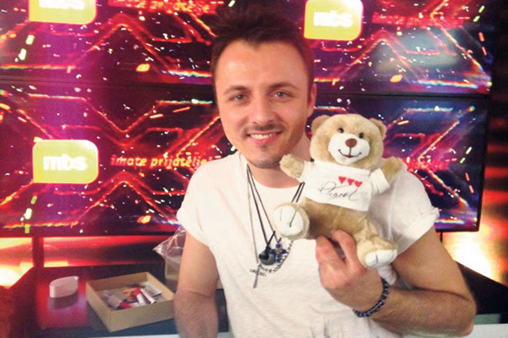 Daniel Kajmakoski, X faktor, Starmanija foto fb
