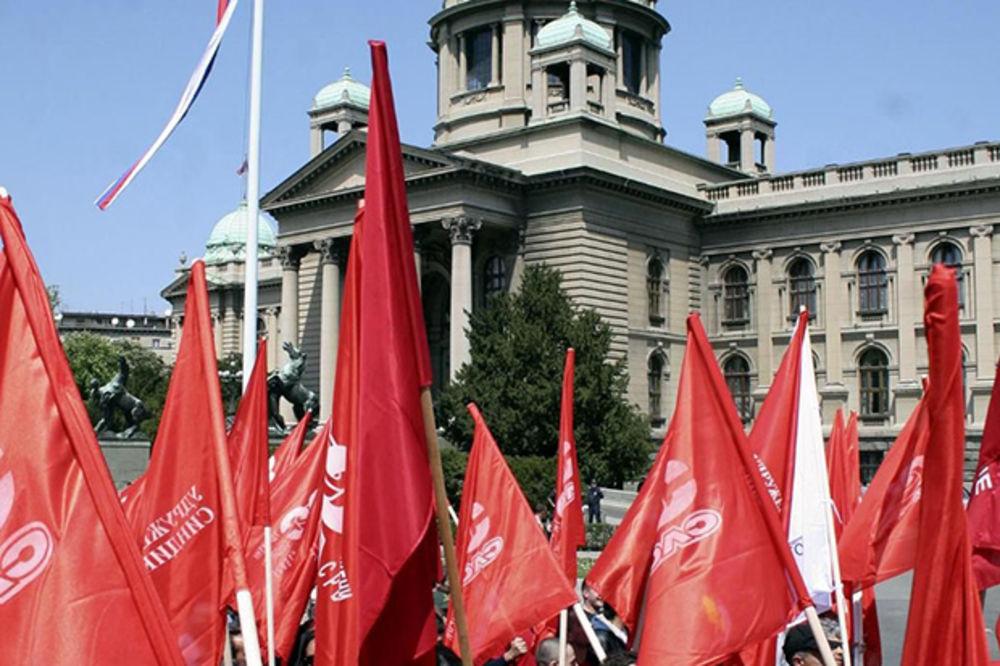 1. MAJ U BEOGRADU: Sprema se radnički protest