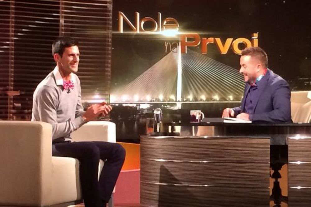 POGLEDAJTE: Novak Đoković i Ivan Ivanović sa leptir mašnama