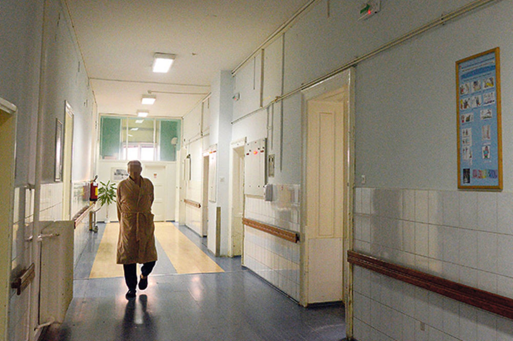 ilustracija, foto: nebojša mandić, bolnica, hol, pacijent,