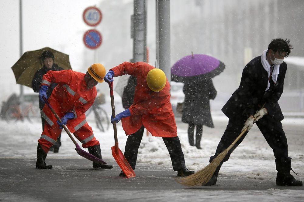 japan sneg oluja ap