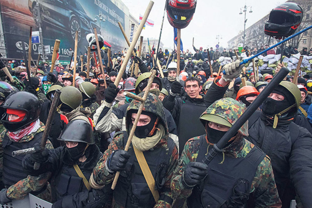 Ukrajina, protesti, Kijev,