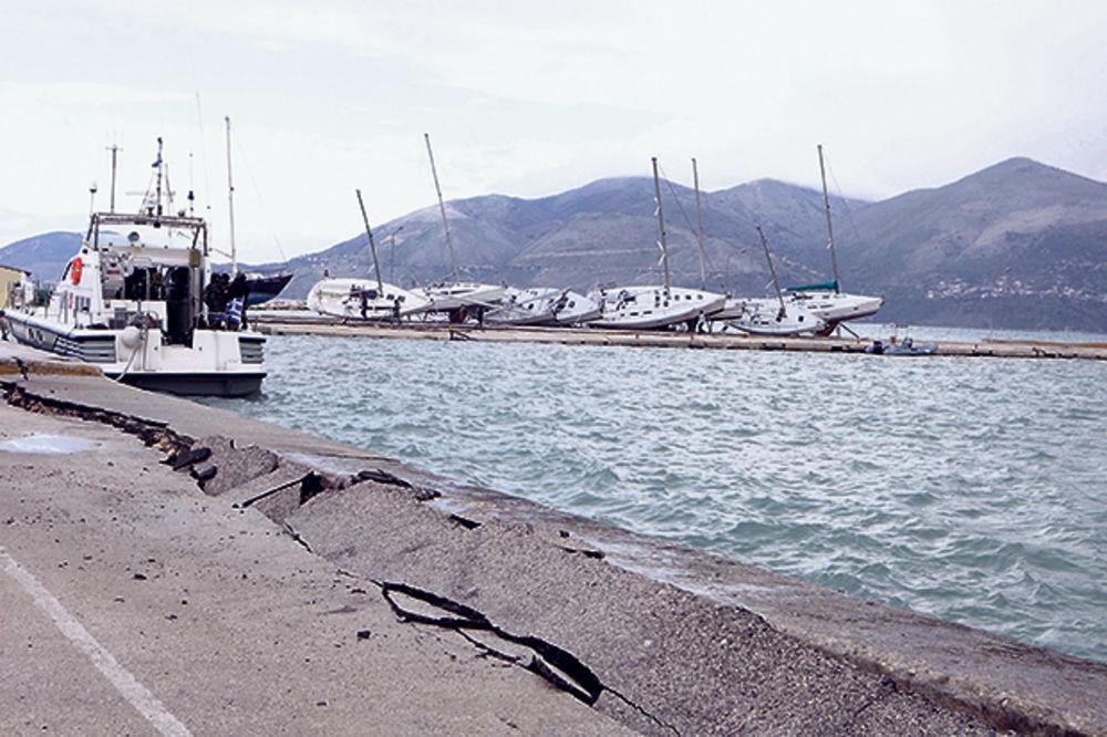 (VIDEO) POTRES USRED SEZONE: Zemljotres jačine 5,1 Rihtera pogodio Halkidiki