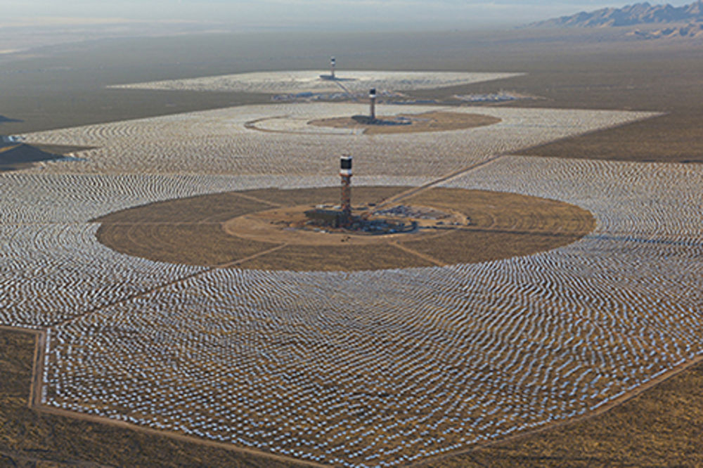 U�AS: Paneli najvece solarne centrale na svetu, pr�e pticama krila ...