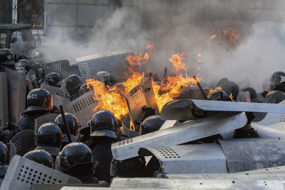 Kijev protesti, foto Reuters