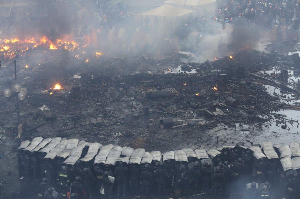 Ukrajina: Pucano na posmatrače OEBS na istoku