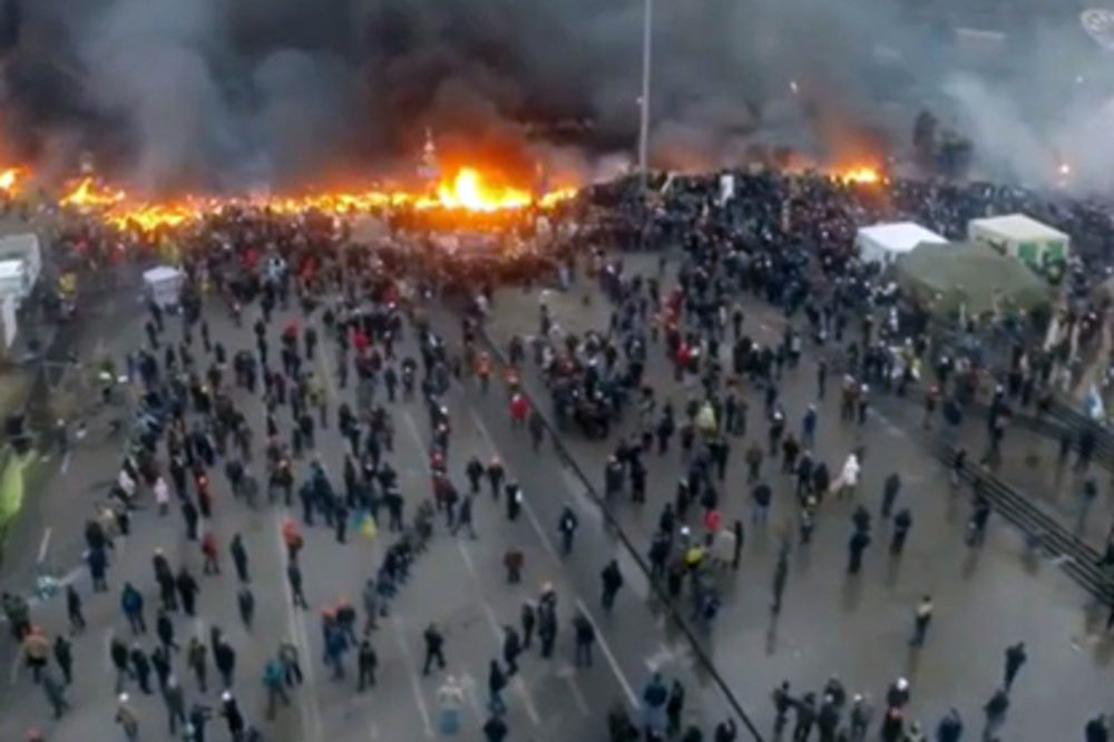 Dron snima Kijev, foto Youtube
