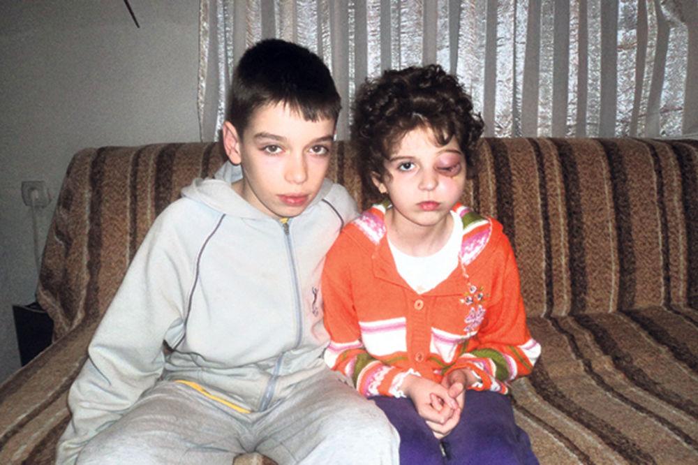 Žale za sestrom... Anastasija sa bratom Lazarom