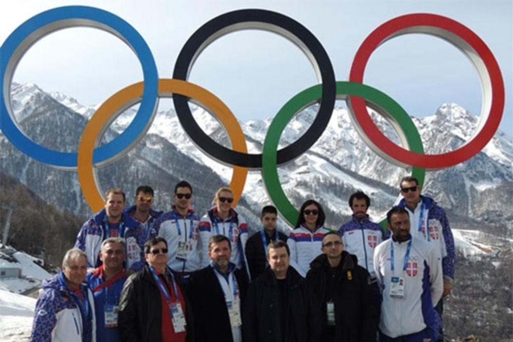 PREMIJER SRBIJE U RUSIJI: Dačić posetio Olimpijsko selo u Sočiju