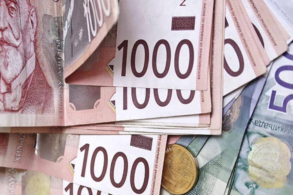 DINAR POSLE DUŽEG VREMENA STAGNACIJE OSLABIO: Evro danas 122,7 dinara