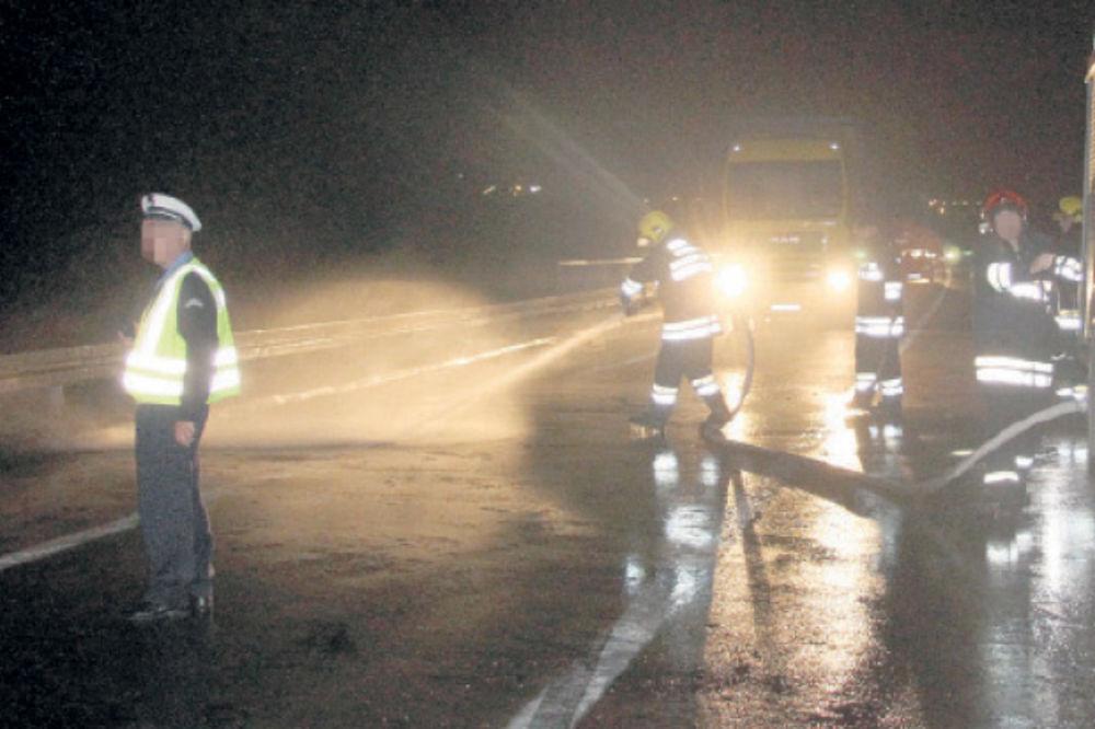 Jedna osoba poginula u direktom sudaru na Jasičkom putu, kod Kruševca