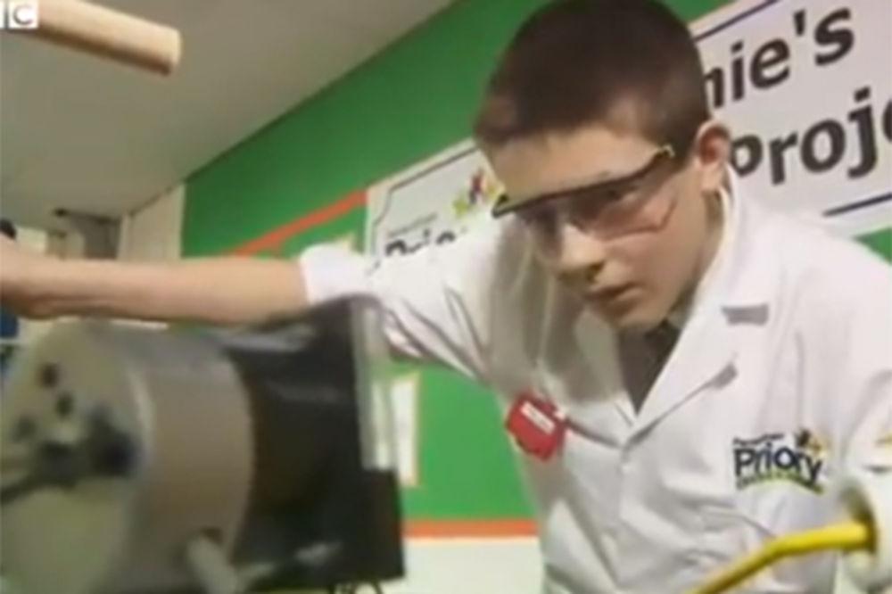 MALI GENIJE: Sa 13 godina napravio nuklearni reaktor u učionici!