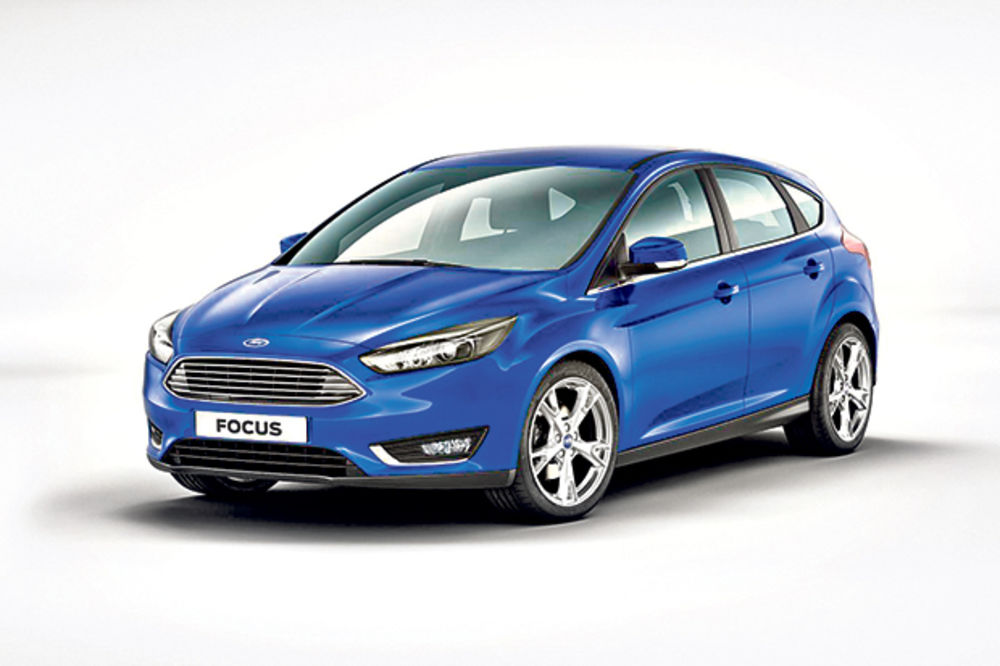 Ford fokus fejslift
