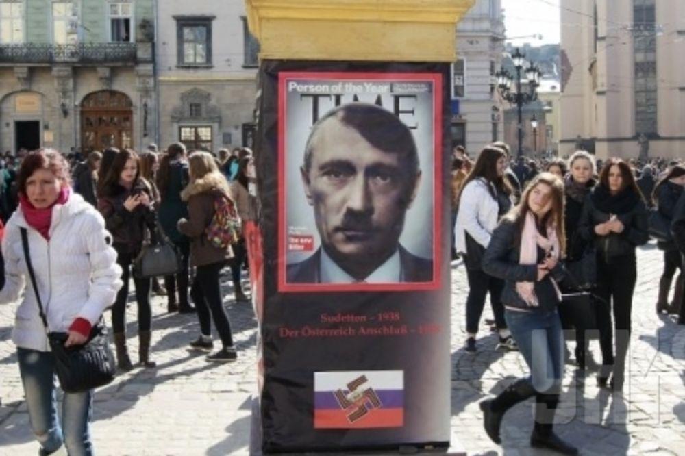 UŽIVO UKRAJINA DAN 22: Merkelova optužila Rusiju da je ukrala Krim, Putina porede s Hitlerom!