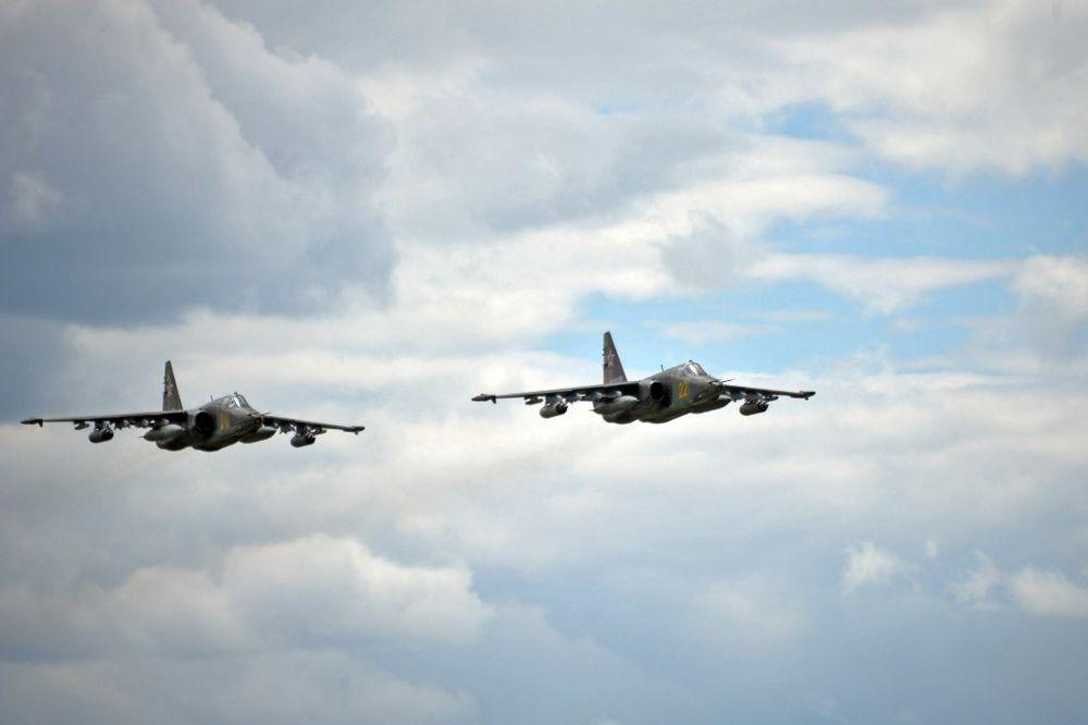 Ruski avioni suhoj, Foto AP