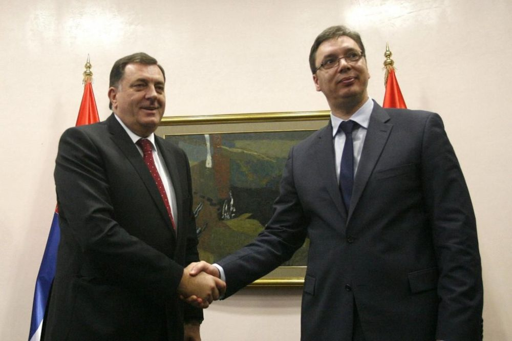 SUSRET U BEOGRADU: Vučić i Dodik o saradnji i infrastrukturnim projektima